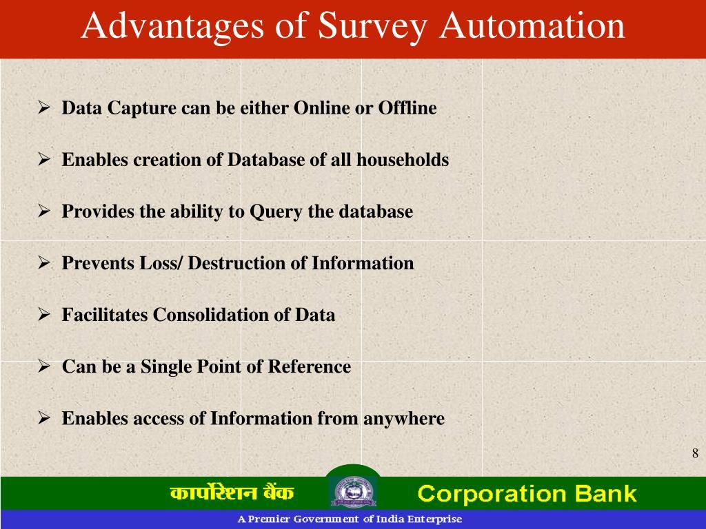 Advantages of Survey Automation