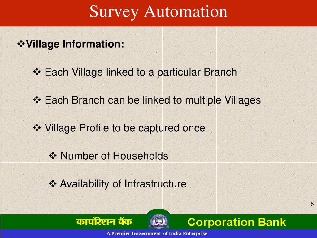 Survey Automation