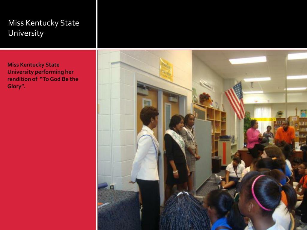 Miss Kentucky State University