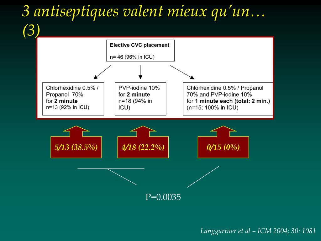 3 antiseptiques valent mieux qu'un… (3)