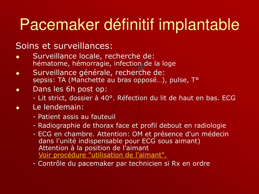Ppt pace makers powerpoint presentation id 235707 - Rincage pulse chambre implantable ...