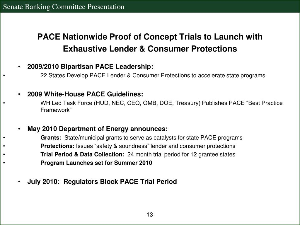 PACE Nationwide Proof of Concept Trials to Launch with