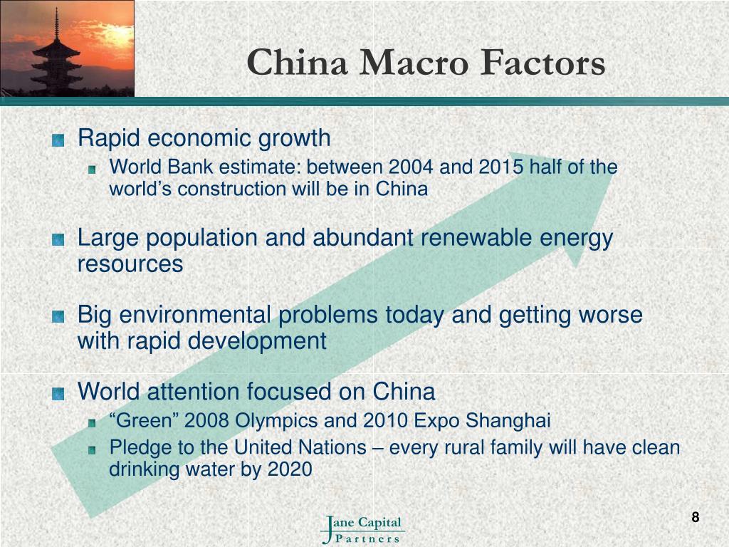China Macro Factors