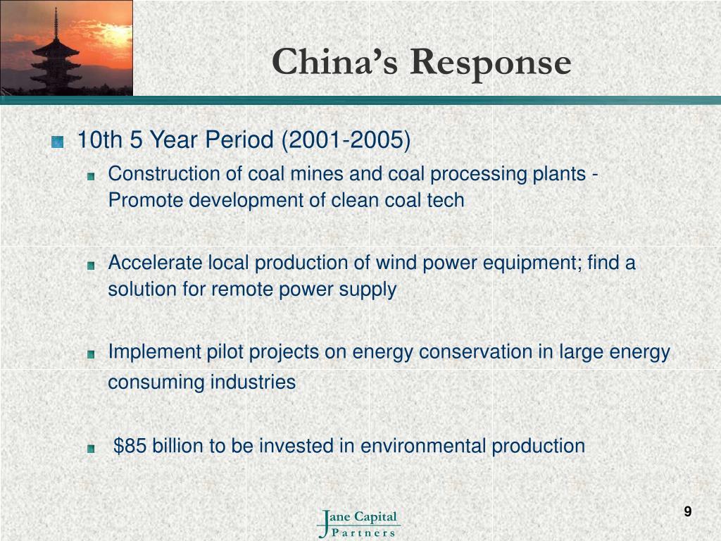 China's Response