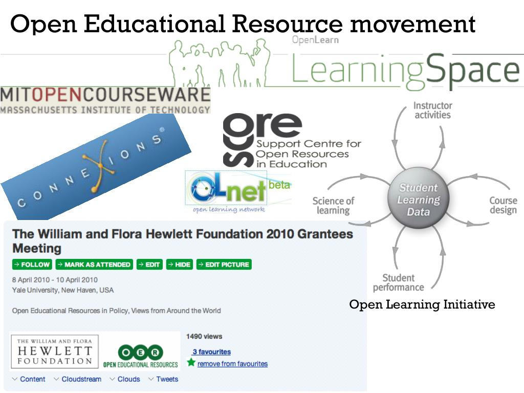 Open Educational Resource movement