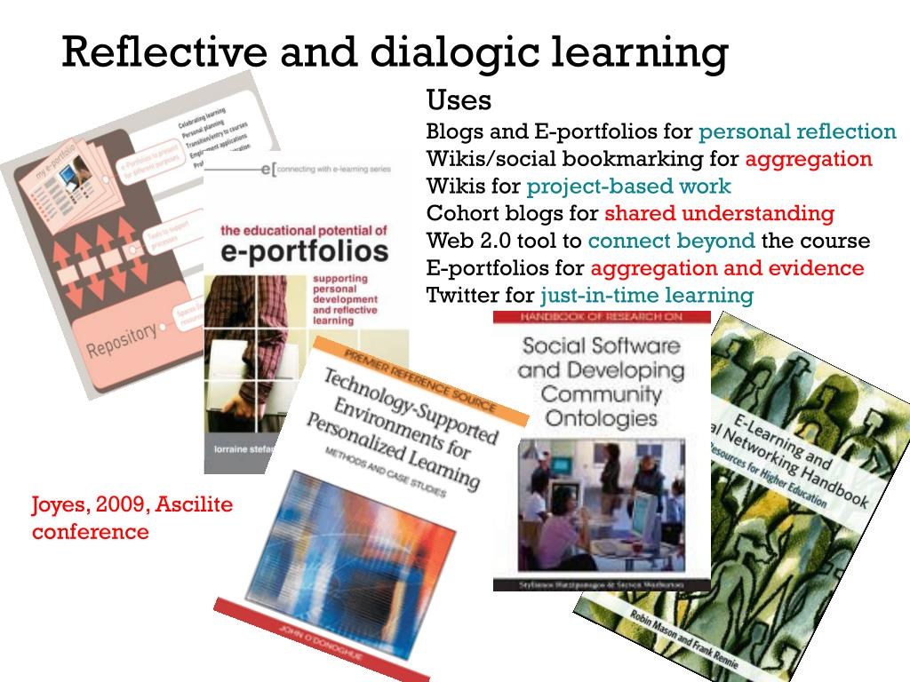 Reflective and dialogic learning