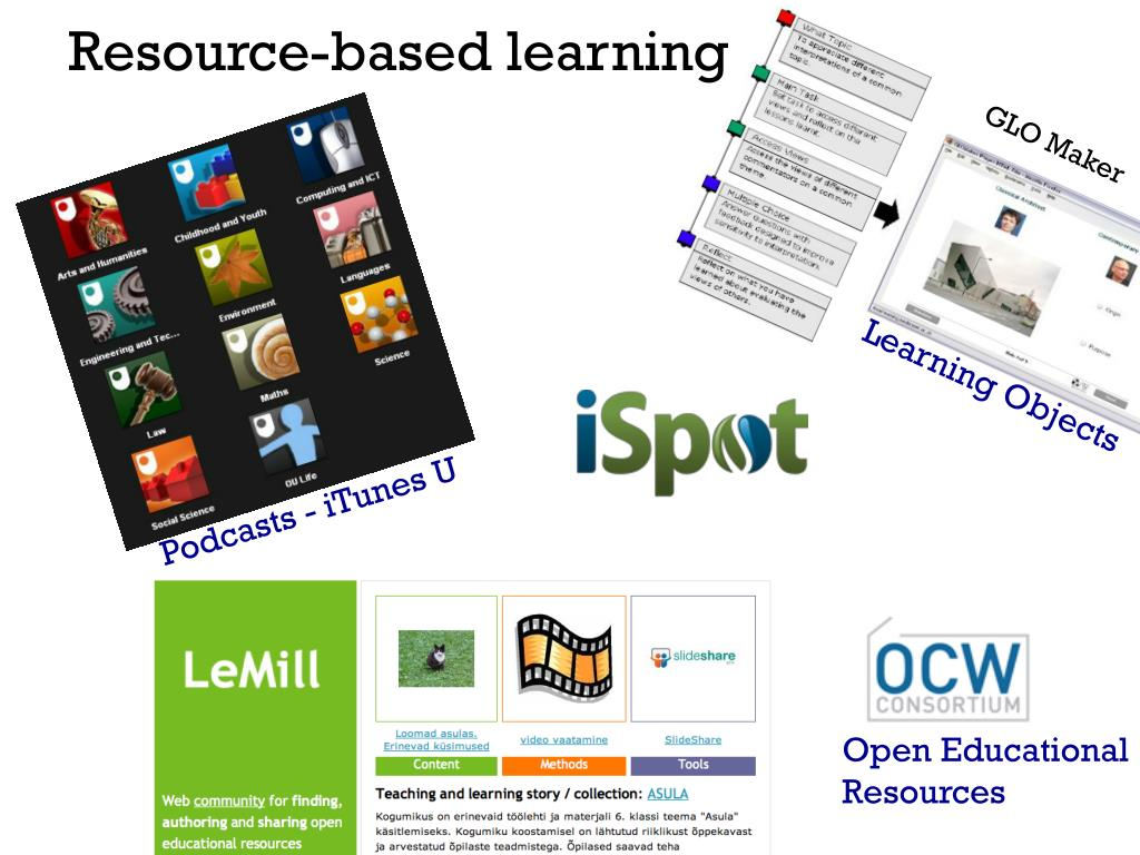 Resource-based learning