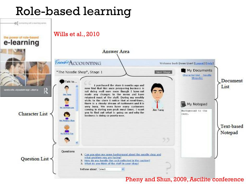 Role-based learning