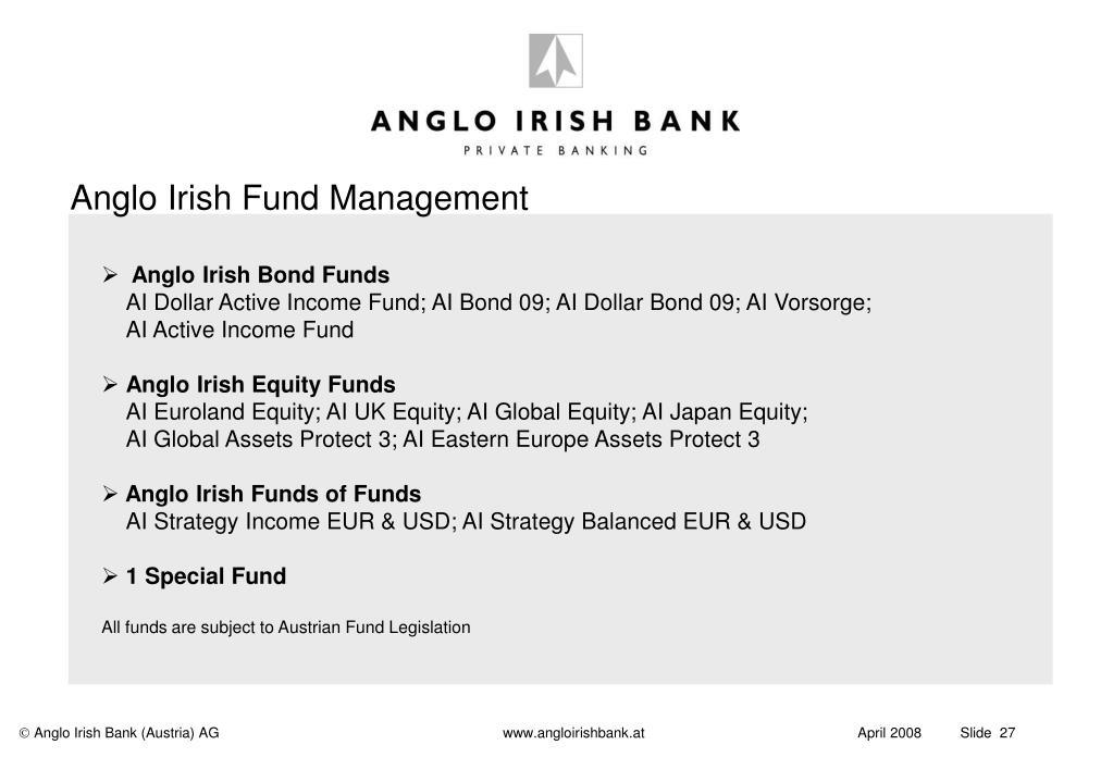 Anglo Irish Fund Management