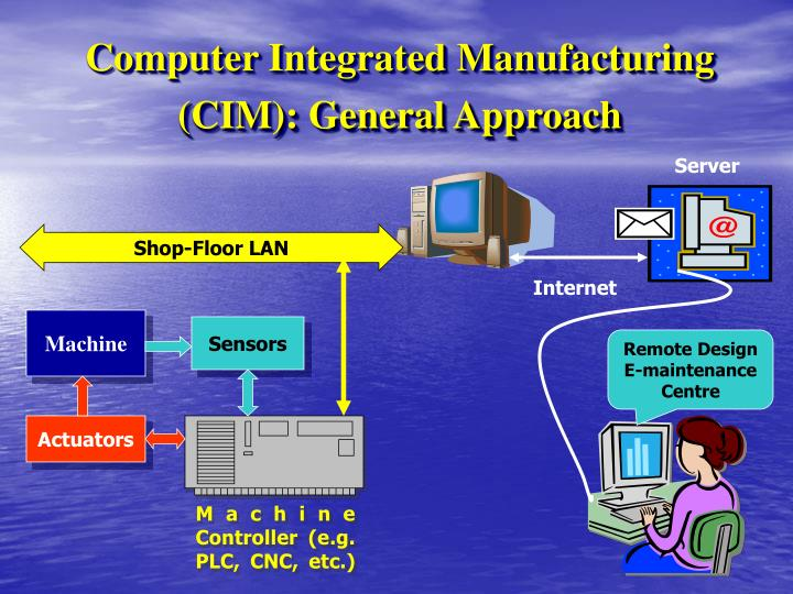 Computer integrated manufacturing cim general approach