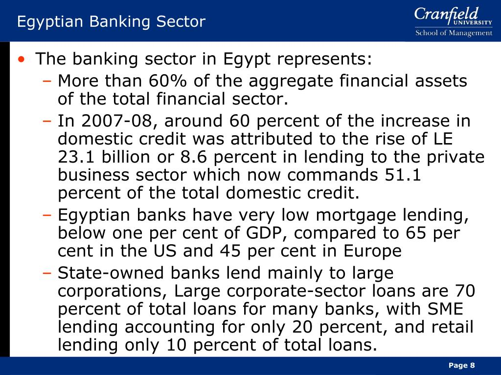 Egyptian Banking Sector