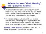 relation between math meaning and everyday meaning10