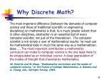 why discrete math36