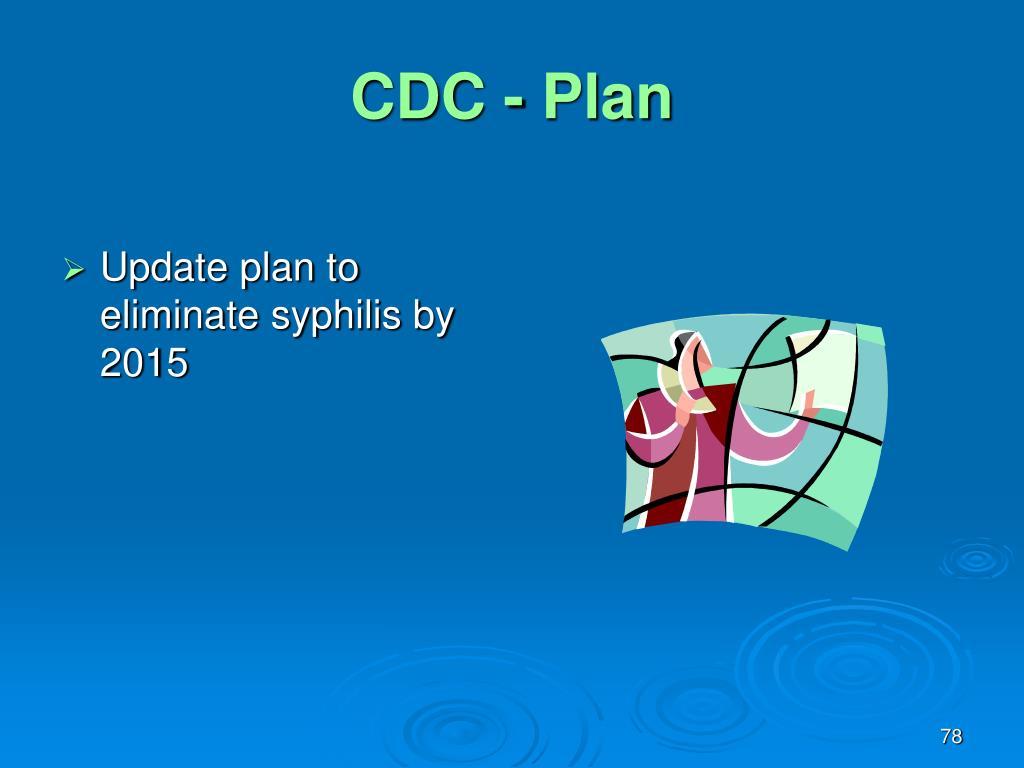 CDC - Plan