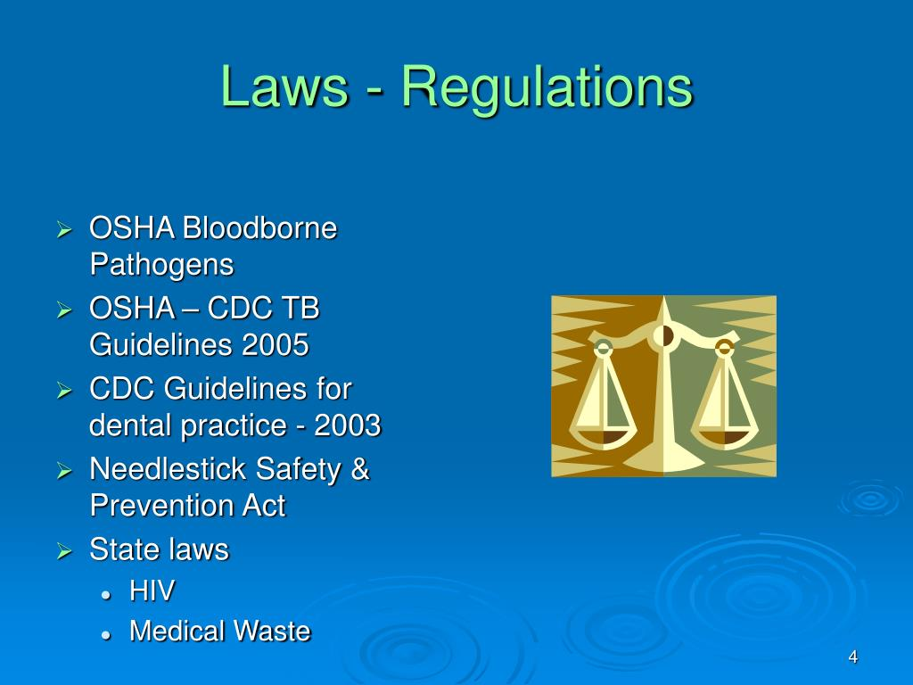 Laws - Regulations