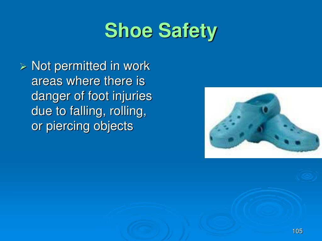 Shoe Safety