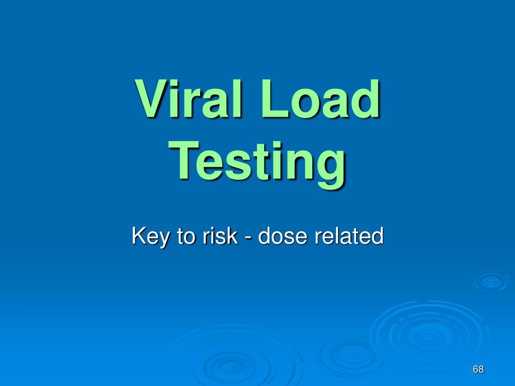 Viral Load Testing
