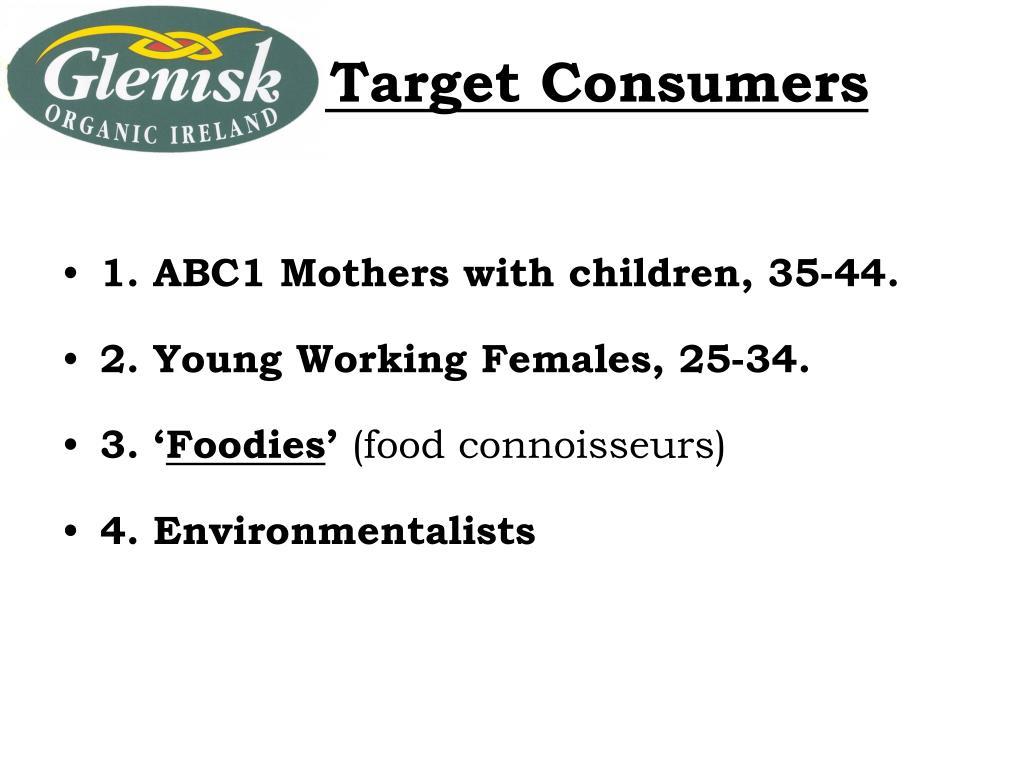 Glenisk Target Consumers