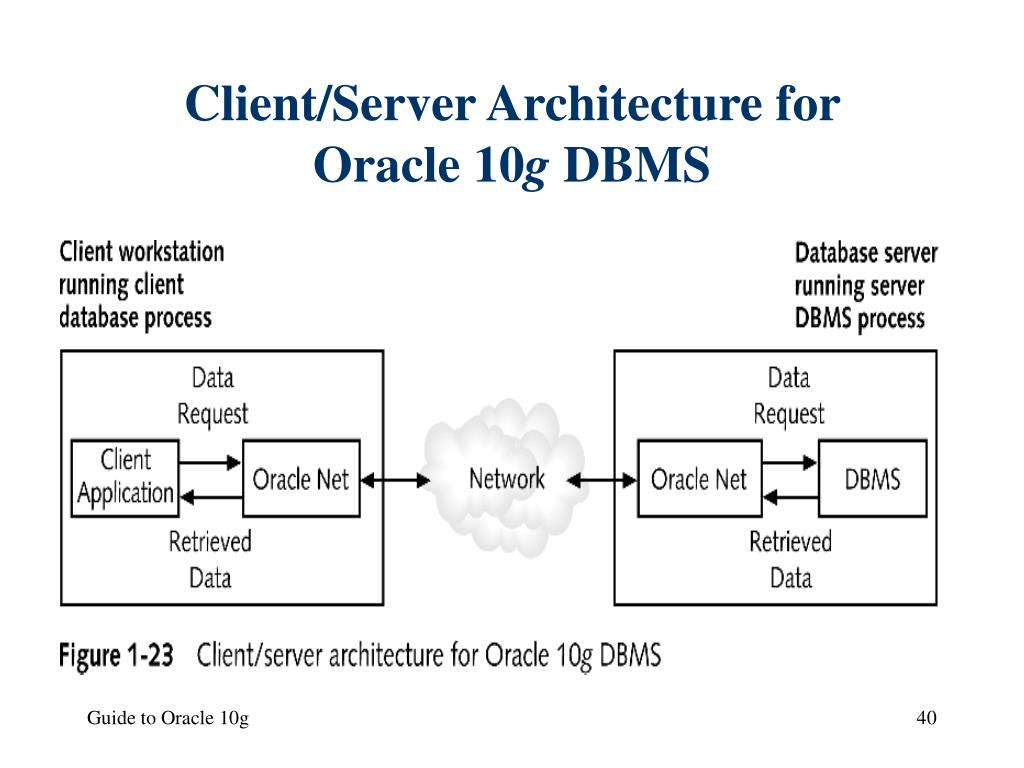 Client/Server Architecture for