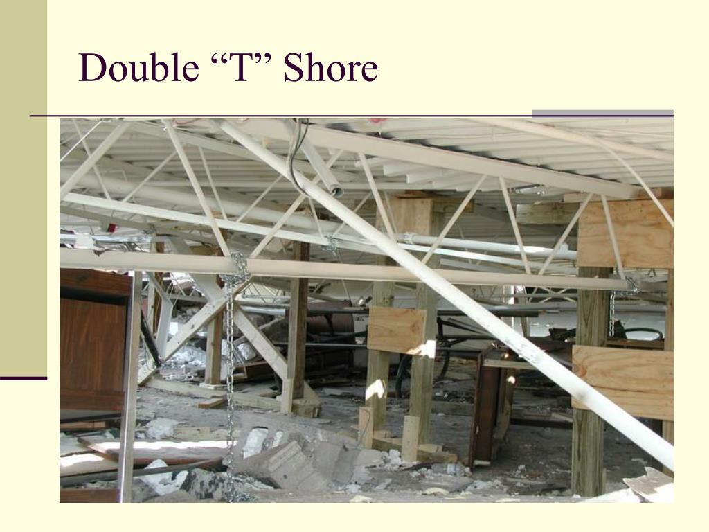 """Double """"T"""" Shore"""