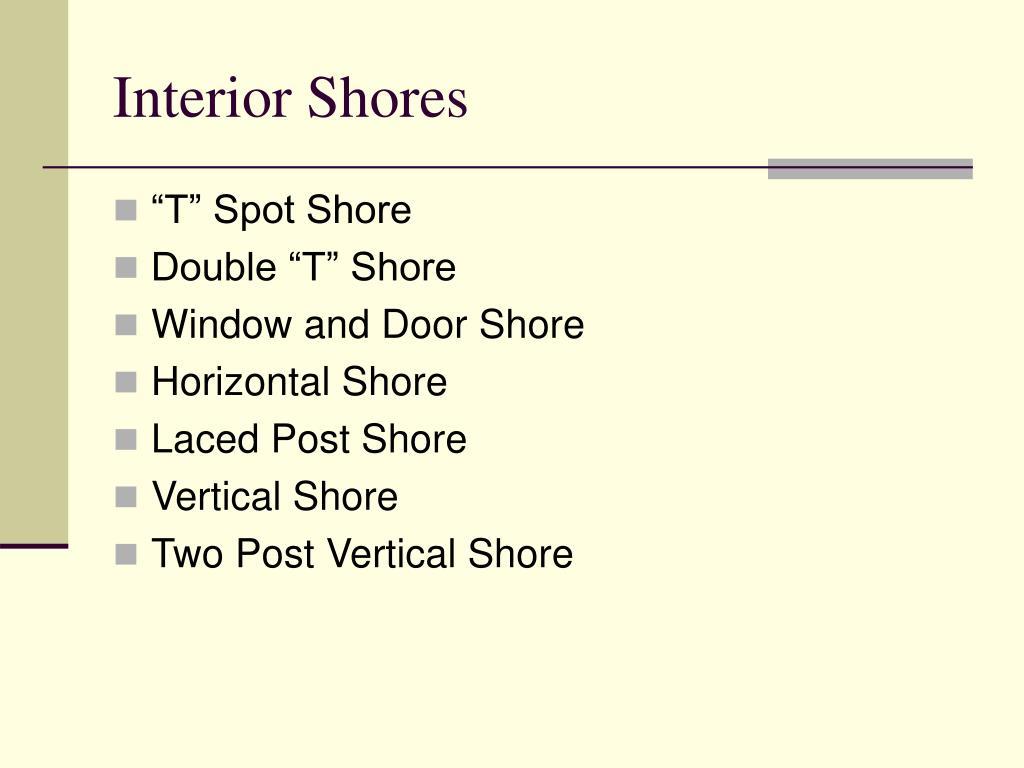 Interior Shores