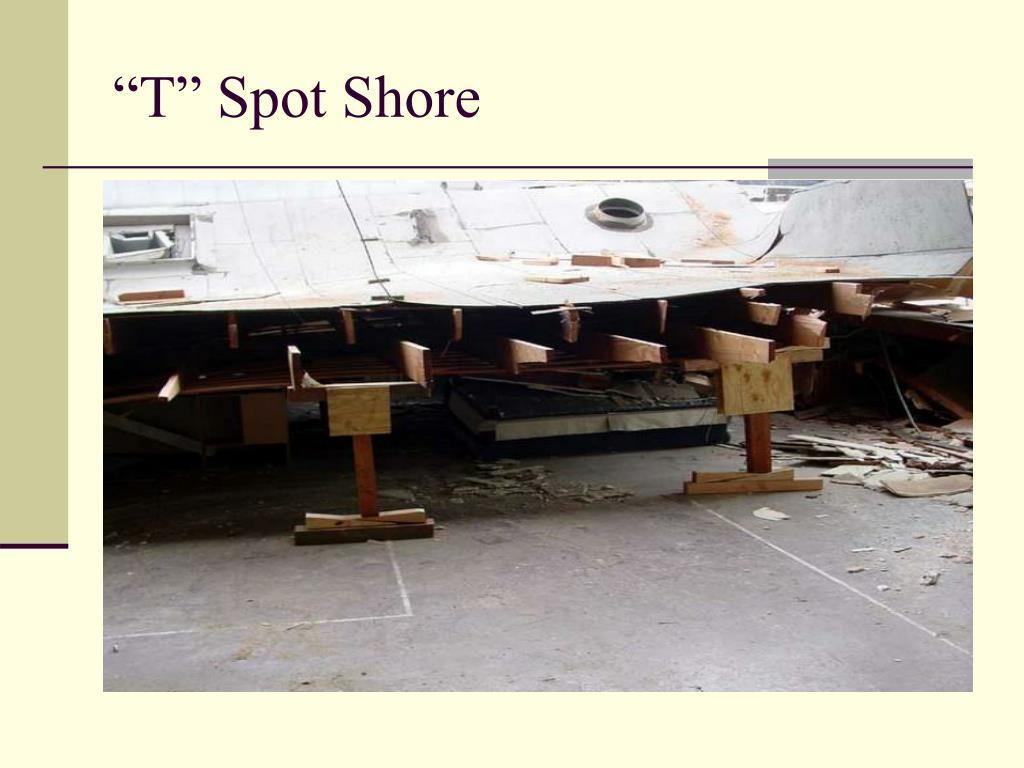 """""""T"""" Spot Shore"""