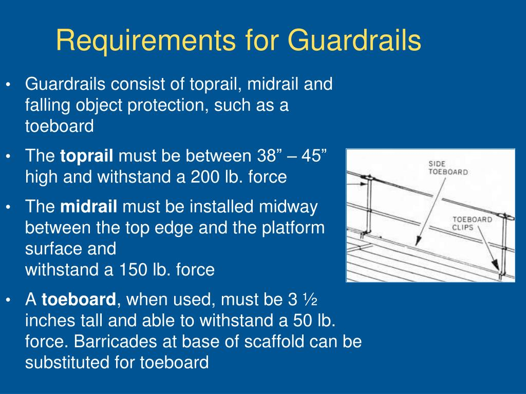 Requirements for Guardrails