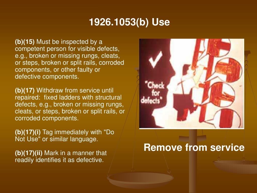 1926.1053(b) Use
