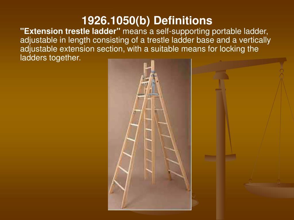 1926.1050(b) Definitions