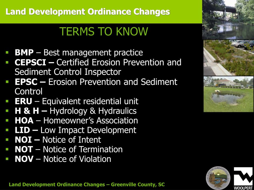 Land Development Ordinance Changes