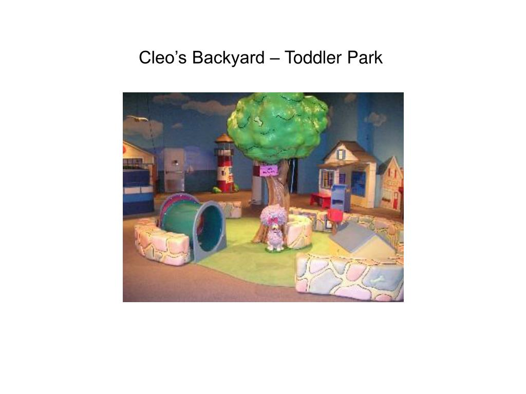 Cleo's Backyard – Toddler Park