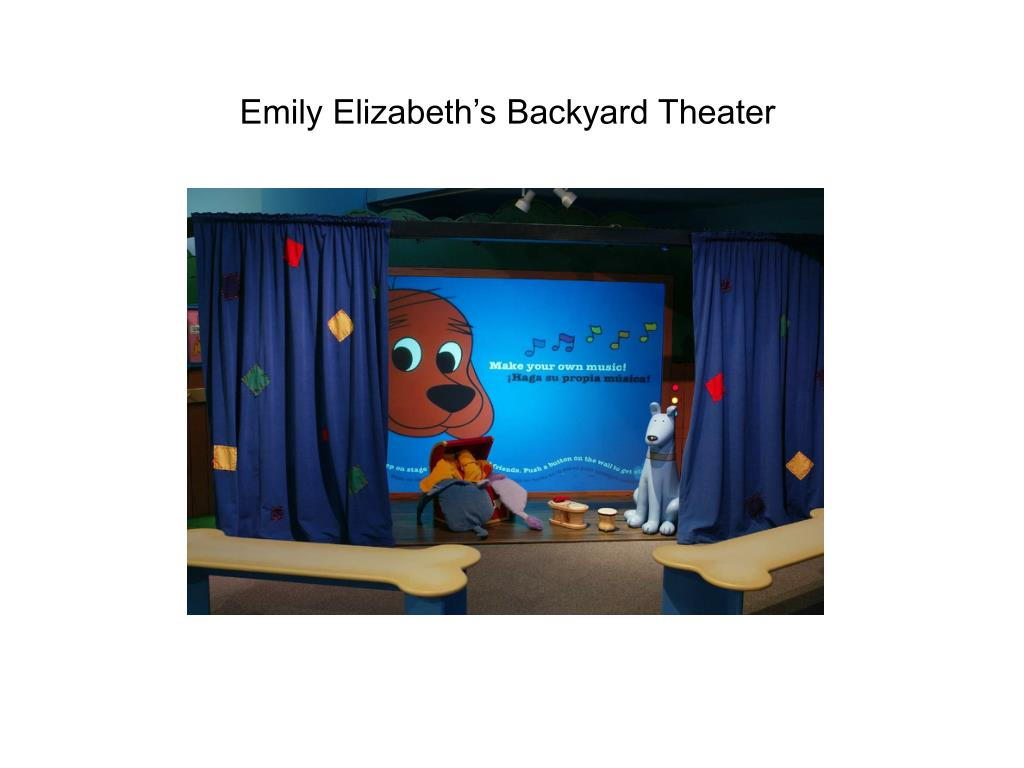 Emily Elizabeth's Backyard Theater