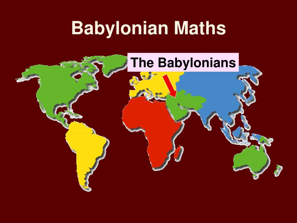 Babylonian Maths
