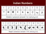 indian numbers