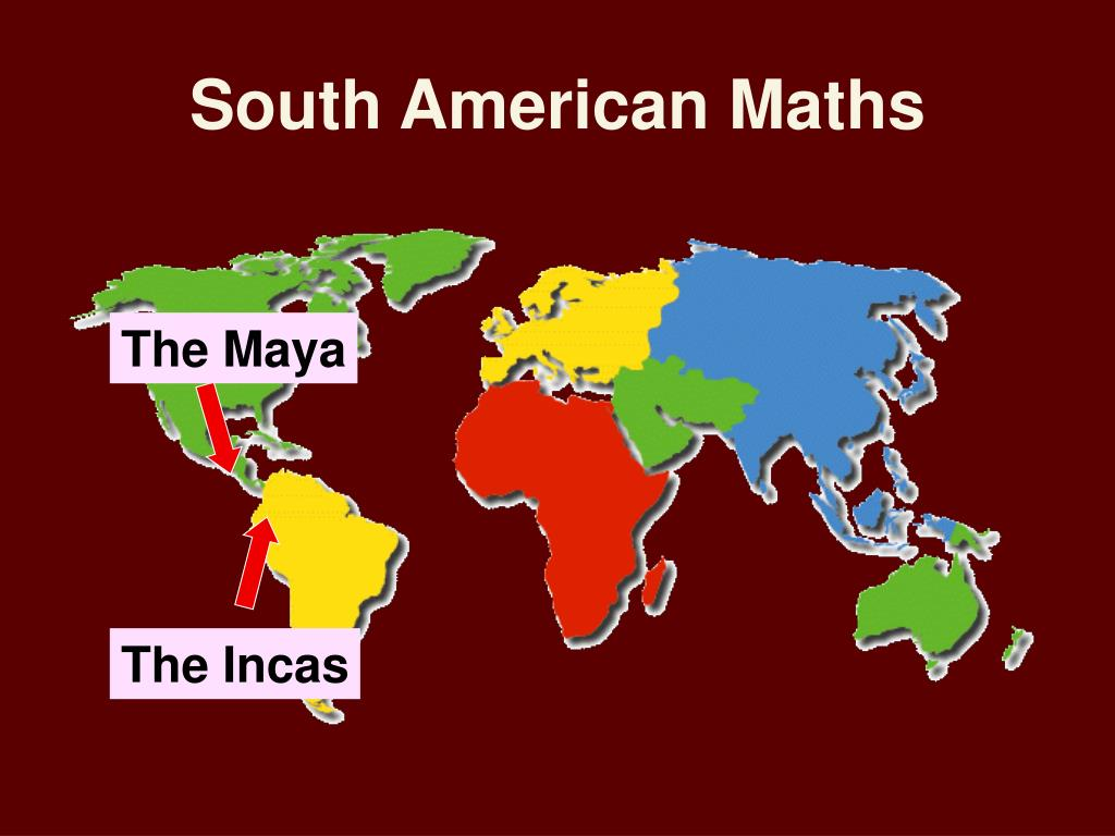 South American Maths