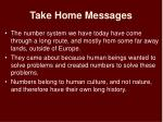 take home messages47