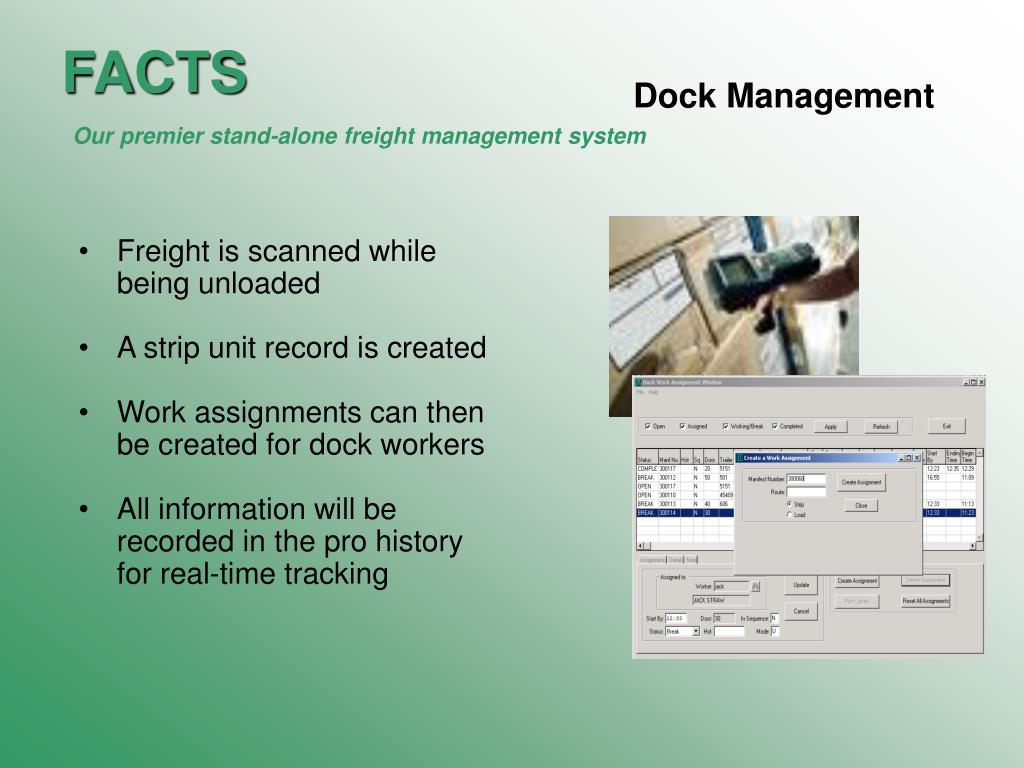 Dock Management