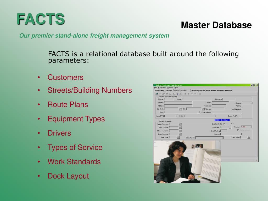 Master Database