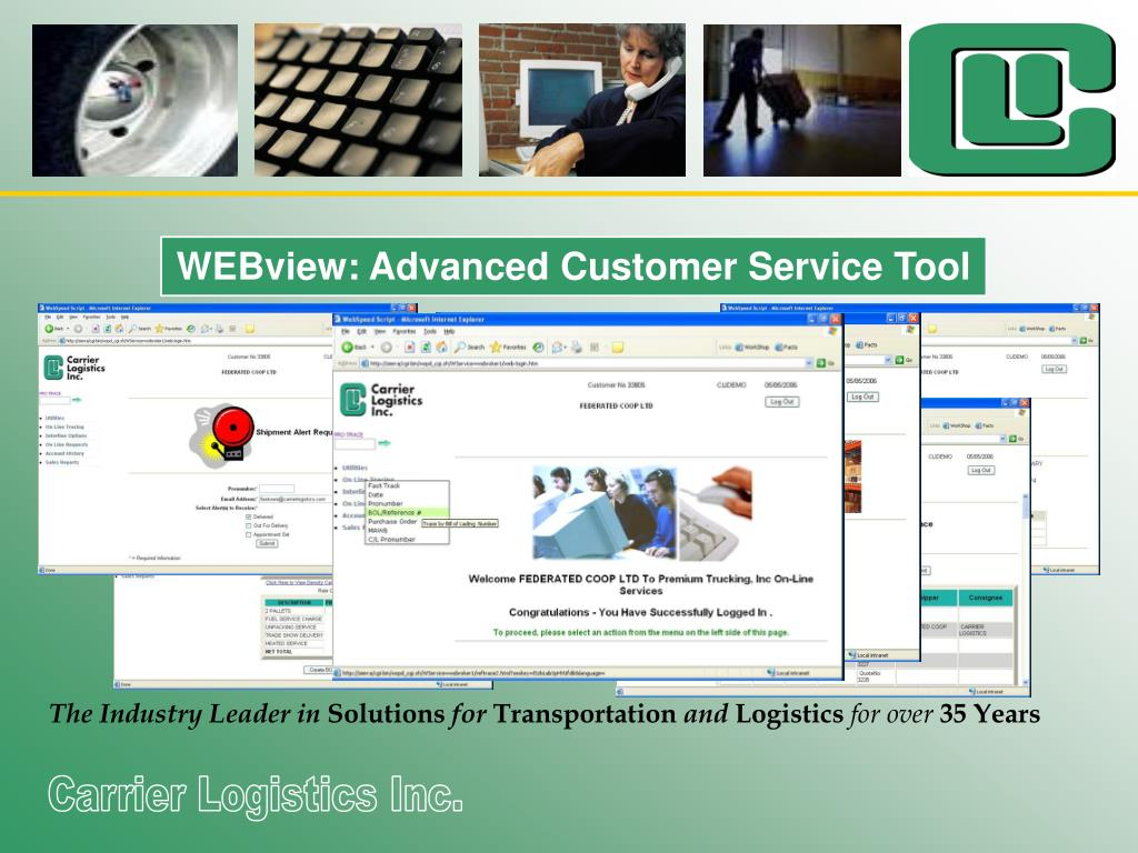 WEBview: Advanced Customer Service Tool