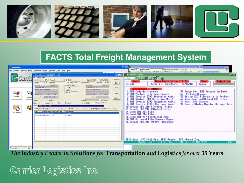 FACTS Total Freight Management System