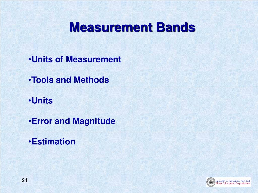 Measurement Bands