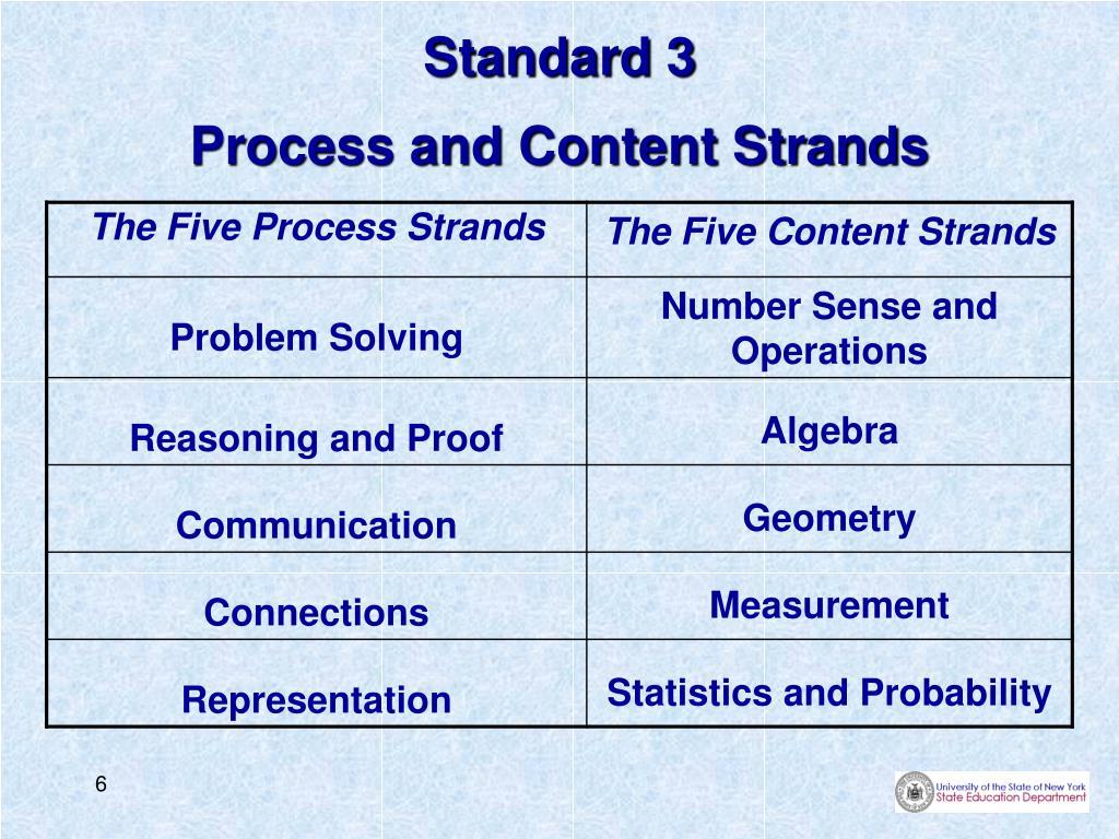 Standard 3