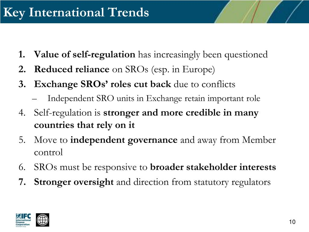 Key International Trends