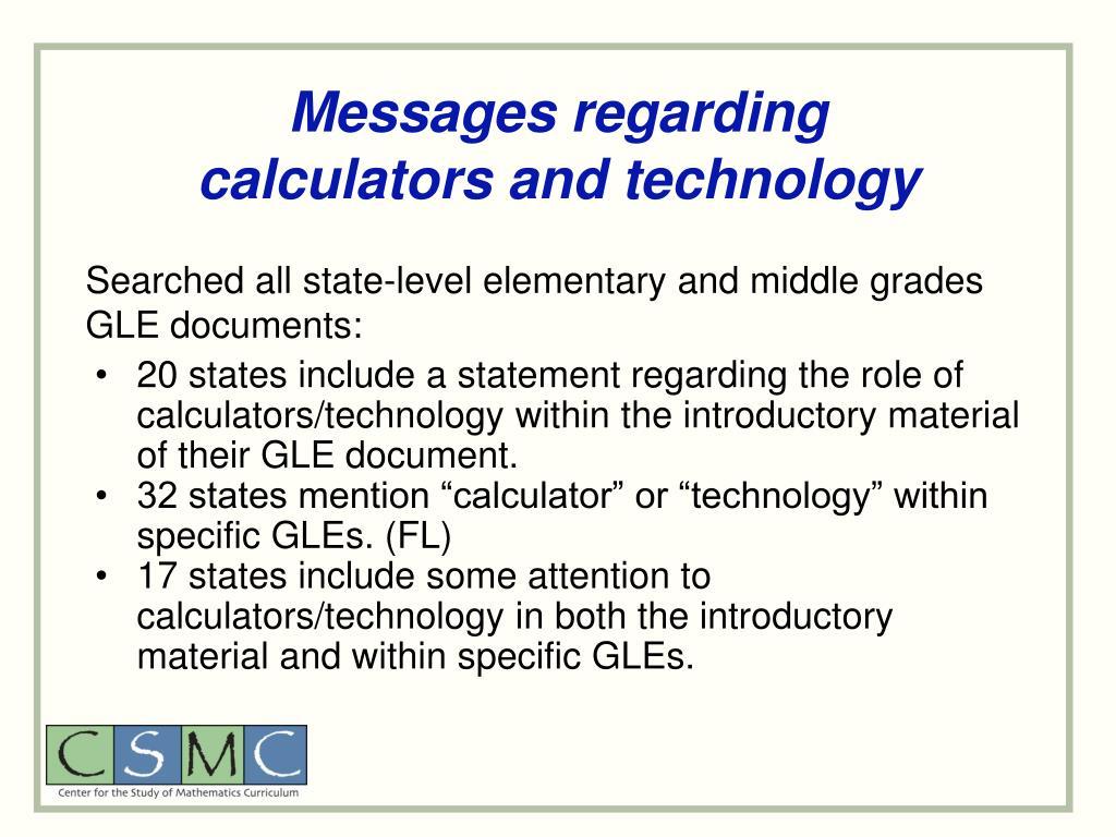 Messages regarding
