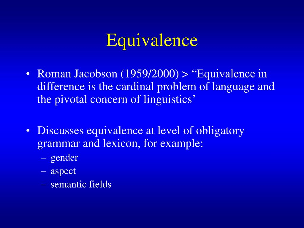dynamic and formal equivalence 4 essay Book review: how to read the  on full display is their enthusiastic endorsement of the use of dynamic equivalence in biblical translation over formal equivalence.