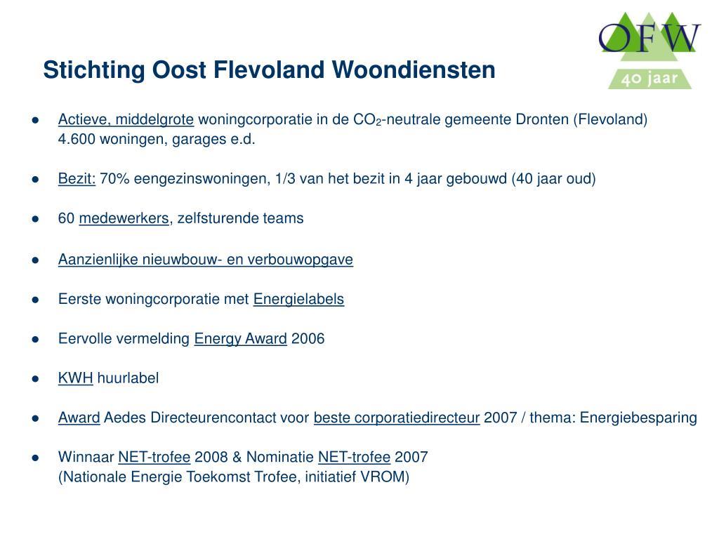 Stichting Oost Flevoland Woondiensten