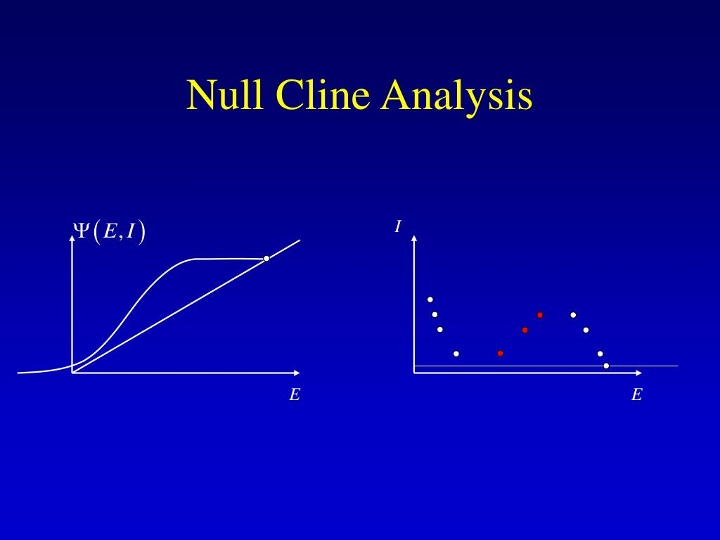 Null Cline Analysis