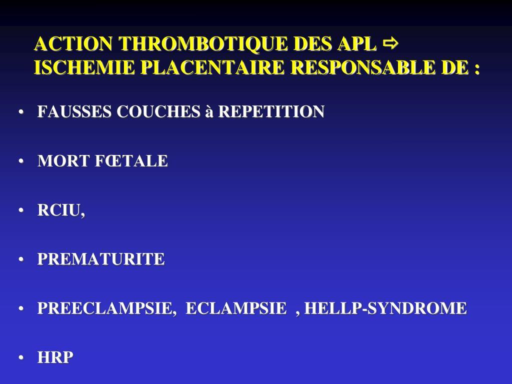 Ppt pathologies auto immunes sapl et lupus powerpoint - Fausse couche a repetition traitement ...