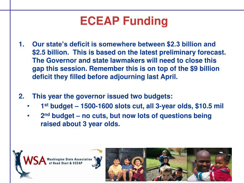 ECEAP Funding
