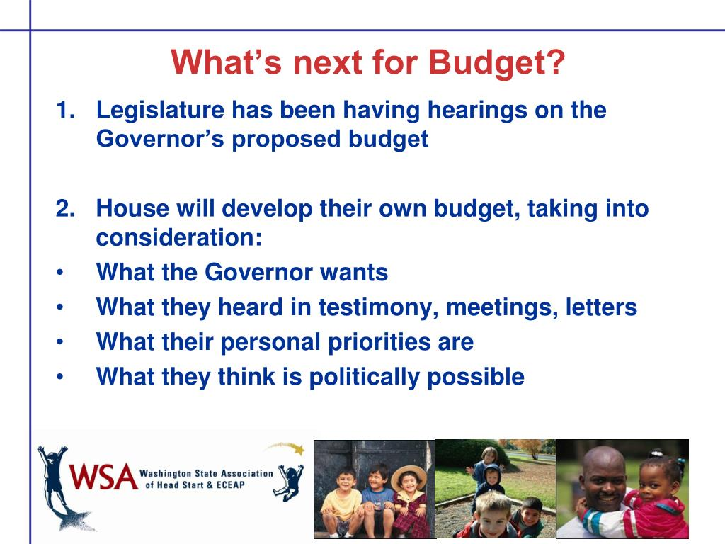 What's next for Budget?